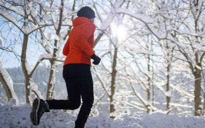 Draußen Bewegen in der kalten Jahreszeit