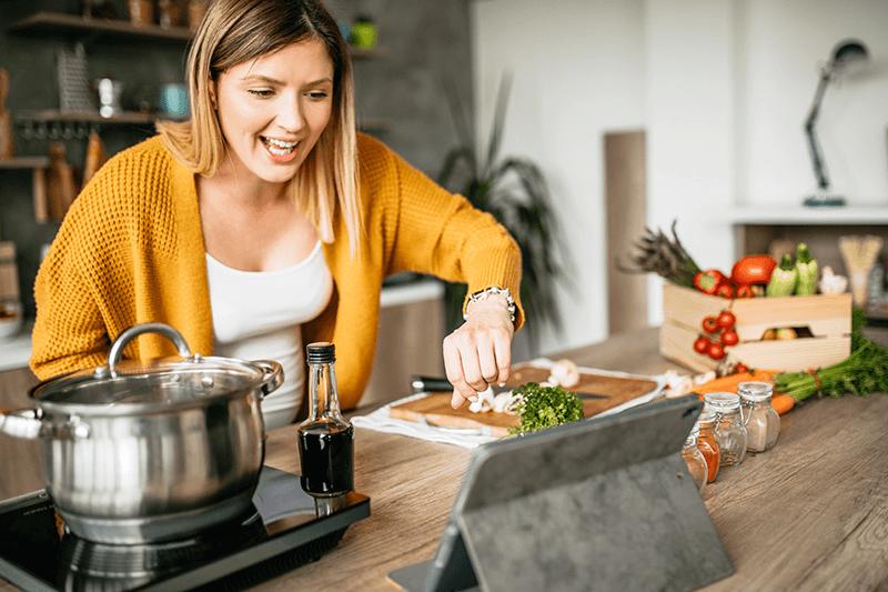 Schlank und fit mit den richtigen Zutaten auf dem Teller!